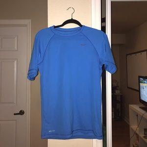 Nike blue dry fit shirt